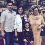 Mohit Abrol Mother, Sister, Brother-in-law & Niece