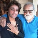 Sahir Lodhi with his father