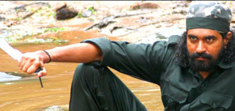 Director Krish as a Naxalite in his film Gamyam (2008)