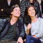 Avicii with his Ex-girlfriend Racquel Natasha Bettencourt