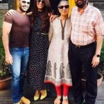 Khushboo with her Husband(Left) & Parents(right)