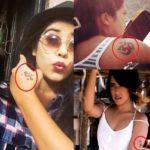 Prakriti Nautiyal tattoos