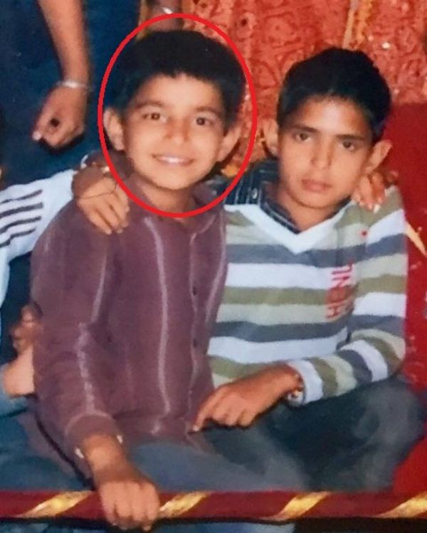 Jass Manak Childhood Photo