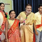 Ananth Vaidyanathan With Her Voice Academy Students