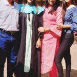 Pranali Singh Rathod with her family
