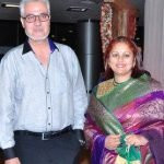 Nitin Kapoor with his wife