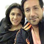 Sulaiman Merchant with his wife