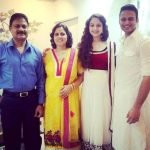Zoya Afroz with her family