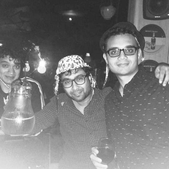 Namashi Chakraborty in a party