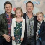 Neil Patrick Harris with his children and husband