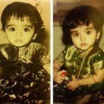 Bhagyashree (Left) and Avantika Dasani (Right)- Childhood Pictures