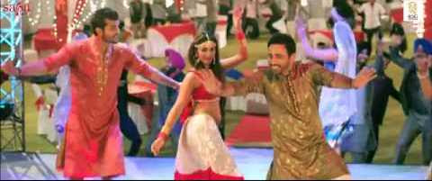 Mathira in the song Lakk Ch Current