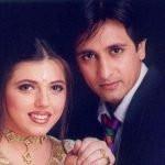 Rajeev Paul with his ex-wife Delnaaz Irani