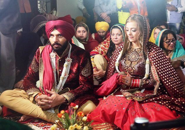 Yuvraj Singh & Hazel Keech wedding ceremony