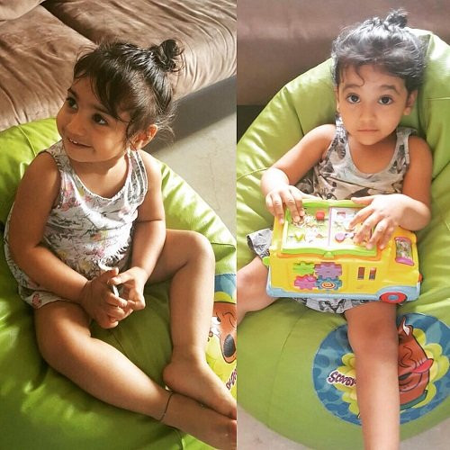 Ashish Chowdhry daughters