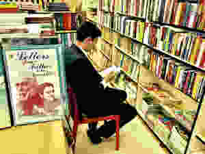Deepak Rawat In A Library