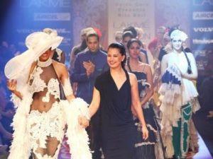 Ritu Beri's Couture show in Paris