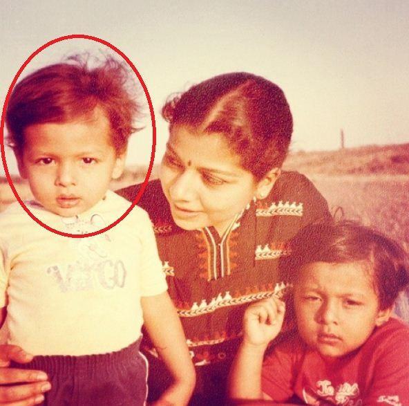Nihaar Pandya's Childhood Photo