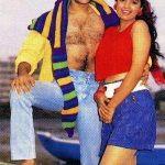 Juhi Chawla photoshoot with Salman Khan