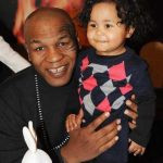 Mike tyson with his daughter Milan Tyson