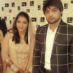 Satyawart Kadian with his wife Sakshi Malik