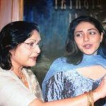 Meghna Gulzar With Her Mother Rakhee
