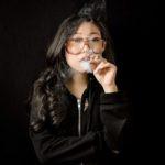 Awkwafina smoking
