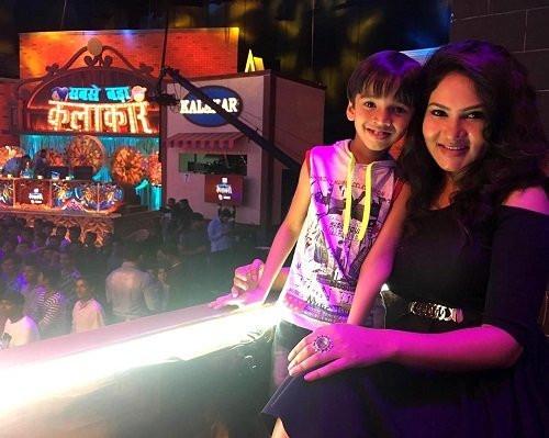 Kamna Pathak with Virad Tyagi