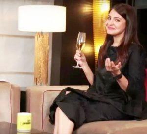 Anushka Sharma Drinking Alcohol