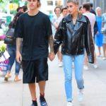 Hailey Baldwin With Her Boyfriend Justin Bieber