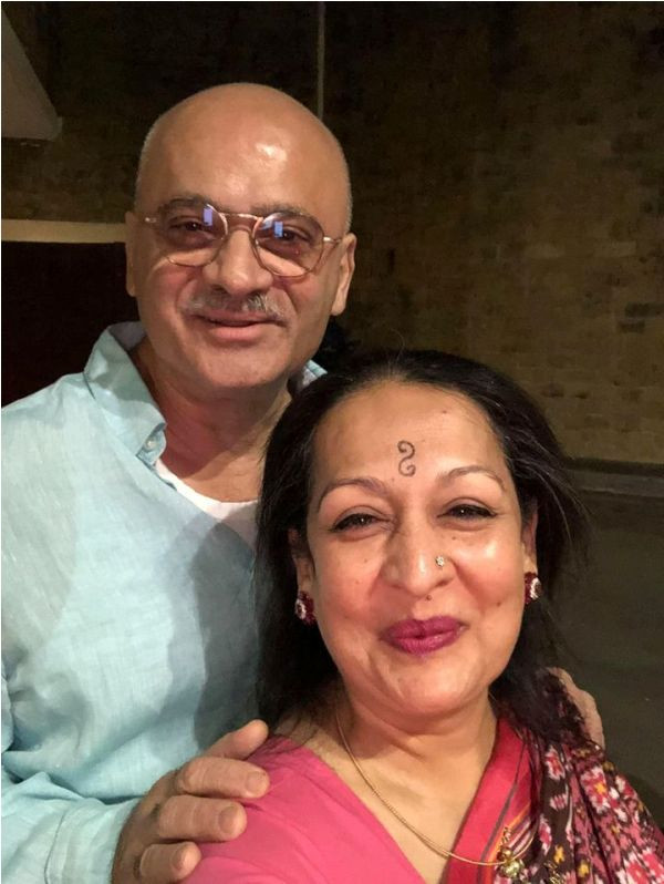 Devika Bhise's Mother and Father