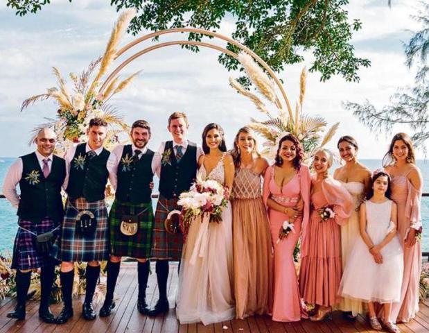 Bruna Abdullah wedding picture