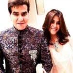 Ekta Kapoor with her father