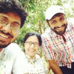 Vaibhav Tatwawaadi With His Brother Gaurav And Mother