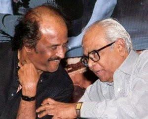 Rajinikanth with K Balachander