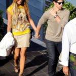 Nick Jonas with his ex-girlfriend Delta Goodrem