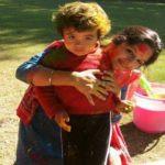 Chhavi Bhardwaj with her Son