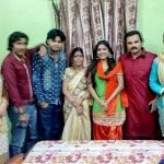 Eenu Shree with her family