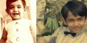 Aamir Khan's Childhood Picture