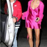 Hailey Baldwin With Her Ex-Boyfriend Cameron Dallas