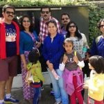 Sumit Awasthi With His Family