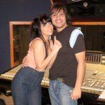 Lady Gaga with Robert Fusari