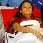 Aishwarya Rai accident in 2003 during the making of Khakee