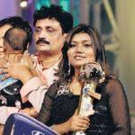 Vaishali Mhade with her husband and child