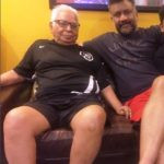 Anubhav Sinha With His Father
