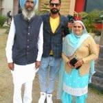 Preet Judge parents