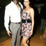 Mouni Roy with Gaurav Chopra