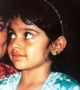 Banita Sandhu childhood photo