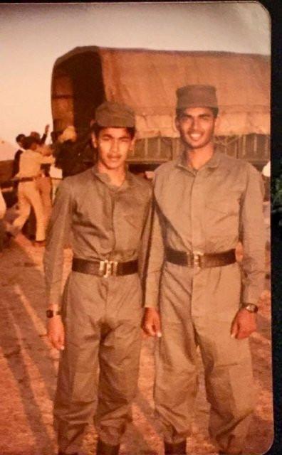 R. Madhavan as an NCC cadet