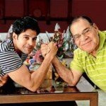 Rajeev Khandelwal with his father Col. C.L. Khandelwal